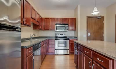 Kitchen, Oaks Glen Lake Apartments, 0