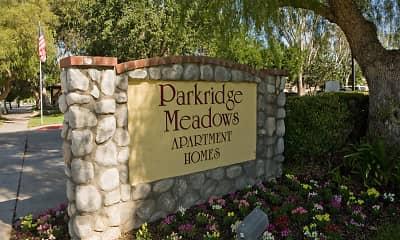 Community Signage, Parkridge Meadows, 2