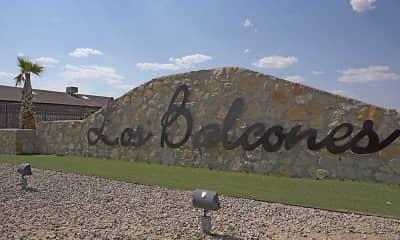 Community Signage, Los Balcones Apartments, 2