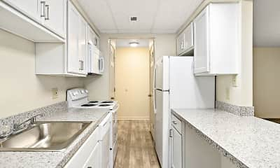 Kitchen, Parkwood Apartments, 1