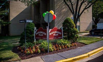 Community Signage, Maplewood Villas, 1