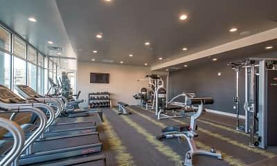 Fitness Weight Room, Moda Bonneville, 1