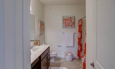 Bathroom, Highland Creek Condominiums, 2