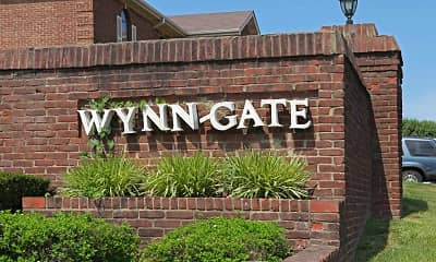 Community Signage, Wynn-Gate Apartments, 2