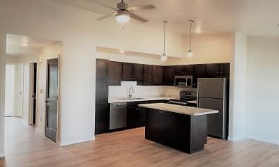 Kitchen, Sand Lake Apartments, 2