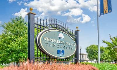 Community Signage, Whispering Woods, 2