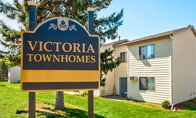 Community Signage, Victoria Townhomes, 2
