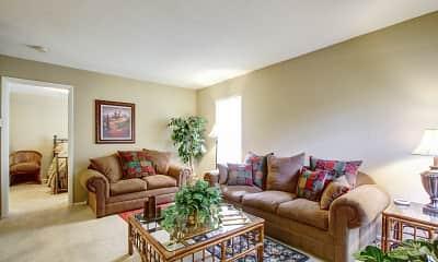 Living Room, Summer Tree, 0