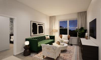 Living Room, Faraday Park, 0