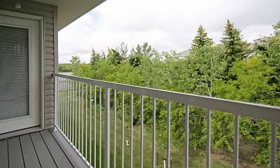 Patio / Deck, Timber Cove Apartments, 2