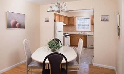 Dining Room, Rutherford Heights, 1