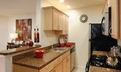 Kitchen, Hill Brook Place Apartments, 0