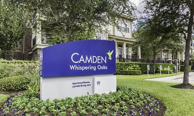 Community Signage, Camden Whispering Oaks, 2
