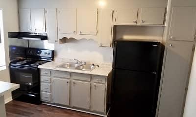 Kitchen, Plantation Place II Apartments, 1