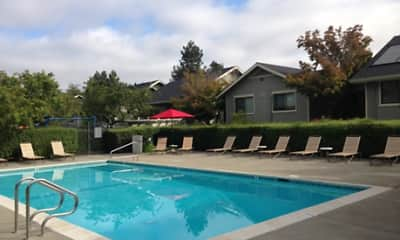 Pool, McInnis Park Apartments, 1