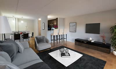 Living Room, Radcliff House, 1