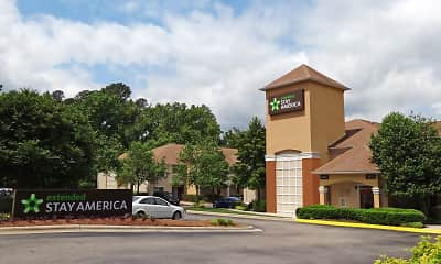 Building, Furnished Studio - Raleigh - North Raleigh - Wake Forest Road, 1