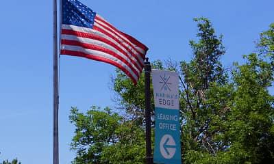Community Signage, Marina's Edge, 1