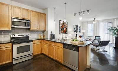 Kitchen, Camden Design District, 1