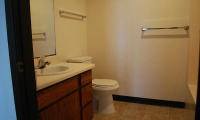 Bathroom, School Street Apartments, 2