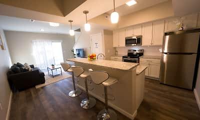 Kitchen, Demorest Town Homes, 2