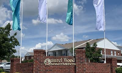Community Signage, Laurel Wood, 0