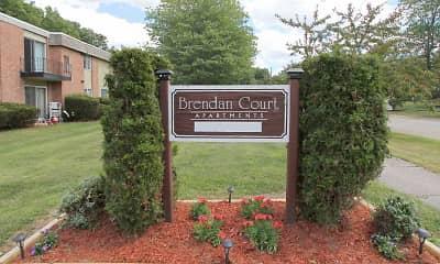Community Signage, Brendan Court, 0