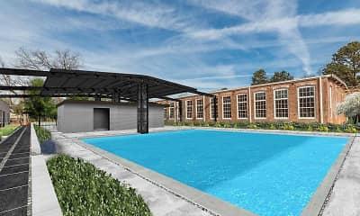 Pool, Mill on Main, 1