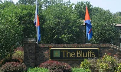 Community Signage, The Bluffs, 2