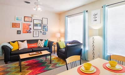 Living Room, Reserve on Perkins, 1