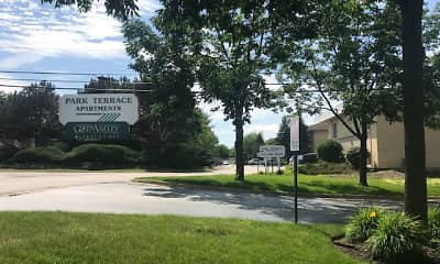 Community Signage, Park Terrace, 1