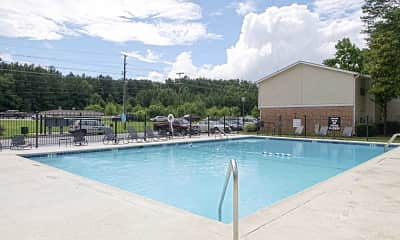 Pool, KRC Foxfire Apartments, 0