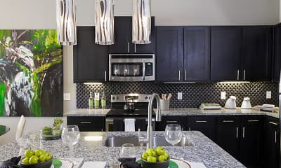 Kitchen, Fountain Pointe Las Colinas, 2
