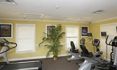 Fitness Weight Room, Oasis at Naples, 2