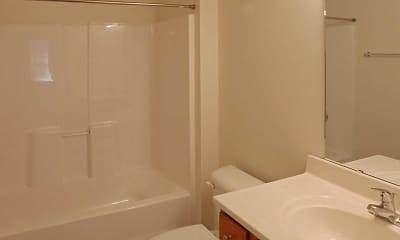 Bathroom, Jefferson Post Apartments, 2