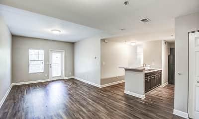 Living Room, Crogman School Lofts Apartments, 1