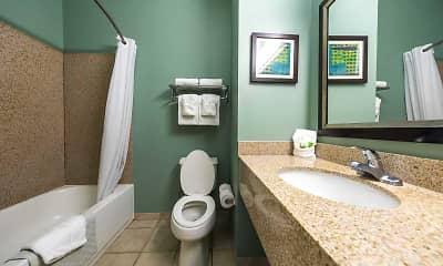 Bathroom, Furnished Studio - Lakeland - I-4, 2