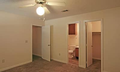 Bedroom, Northtown Apartments, 2