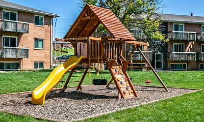 Playground, Oak Creek Apartments, 1