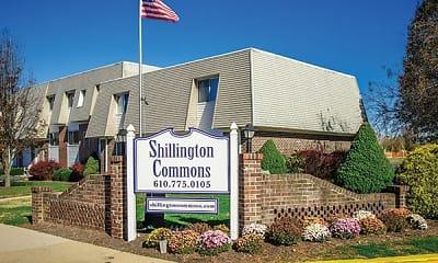 Community Signage, Shillington Commons Apartments, 1