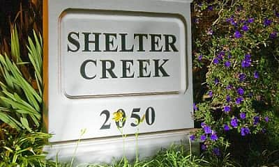 Community Signage, Shelter Creek, 1