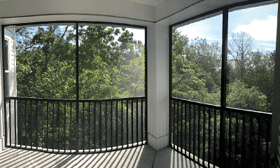 Patio / Deck, Grande Oaks Parc Apartments, 2