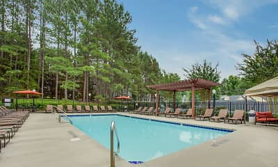 Pool, Crowne Oaks, 0
