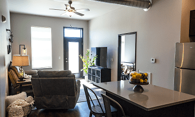 Living Room, Brick Towne Ames, 1