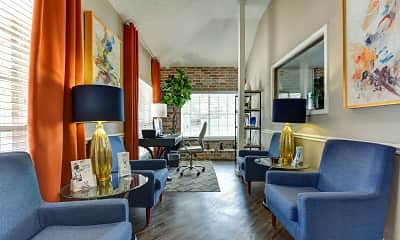 Living Room, The Preston Apartments, 2