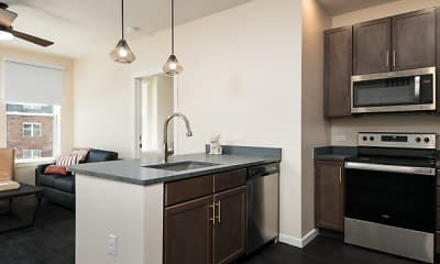 Kitchen, The Marshall Student Living, 1