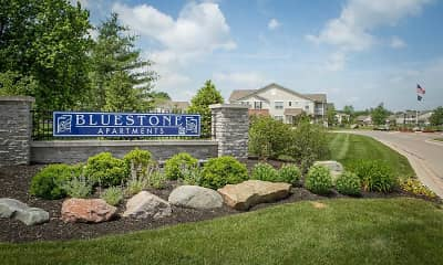 Community Signage, Bluestone Apartments, 1