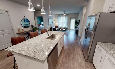 Kitchen, Talus Flats, 1