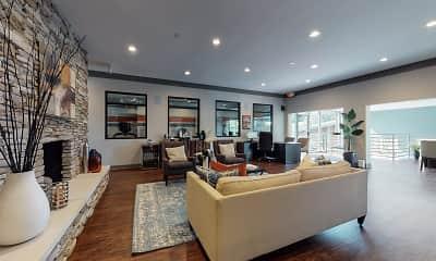 Living Room, The Vue Lexington, 2