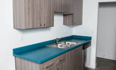 Kitchen, Beverly Grove Apartments, 2